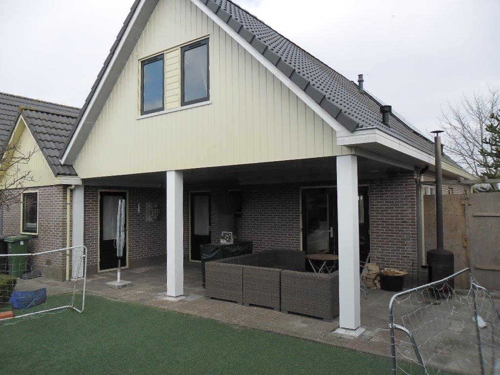 Burgmeijer 39 s bouwbedrijf uitbreiding met veranda hulft bovenkarspel - Veranda met dakraam ...