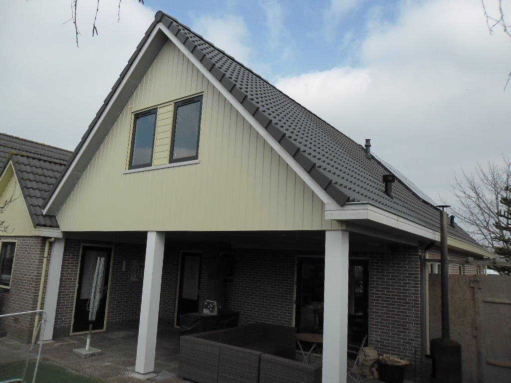 Burgmeijer 39 s bouwbedrijf uitbreiding met veranda hulft bovenkarspel - Uitbreiding veranda ...